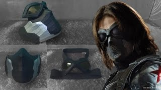 The Winter Soldier Mask from Cardboard (Part 2)