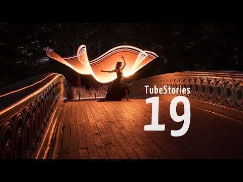 Two years tube light-painting anniversary + NYC meetup - Tube Stories 19