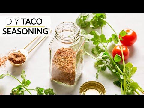 HOW TO MAKE TACO SEASONING | Clean, Easy Recipe