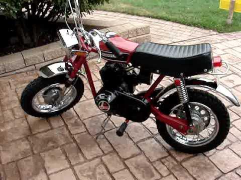 Quick Tour 1971 Rupp Roadster Ii Minibike Youtube