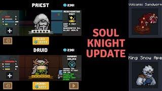 Soul Knight Update! Druid Gameplay+Weird Glitch