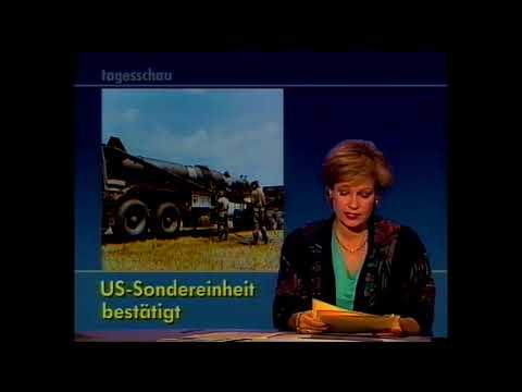 Tagesschau vom 29.10.1988 mit Dagmar Berghoff