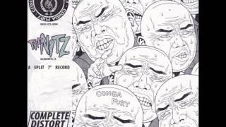 "Sacramento's The Nitz side of 2004 split 7"" with Japan's Conga Fury..."