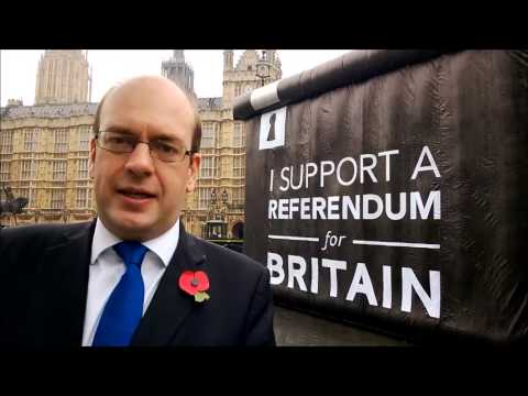 Mark Reckless MP: Backing the bill for an EU Referendum