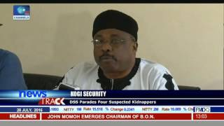 Kogi Security: DSS Parades Four Suspected Kidnappers