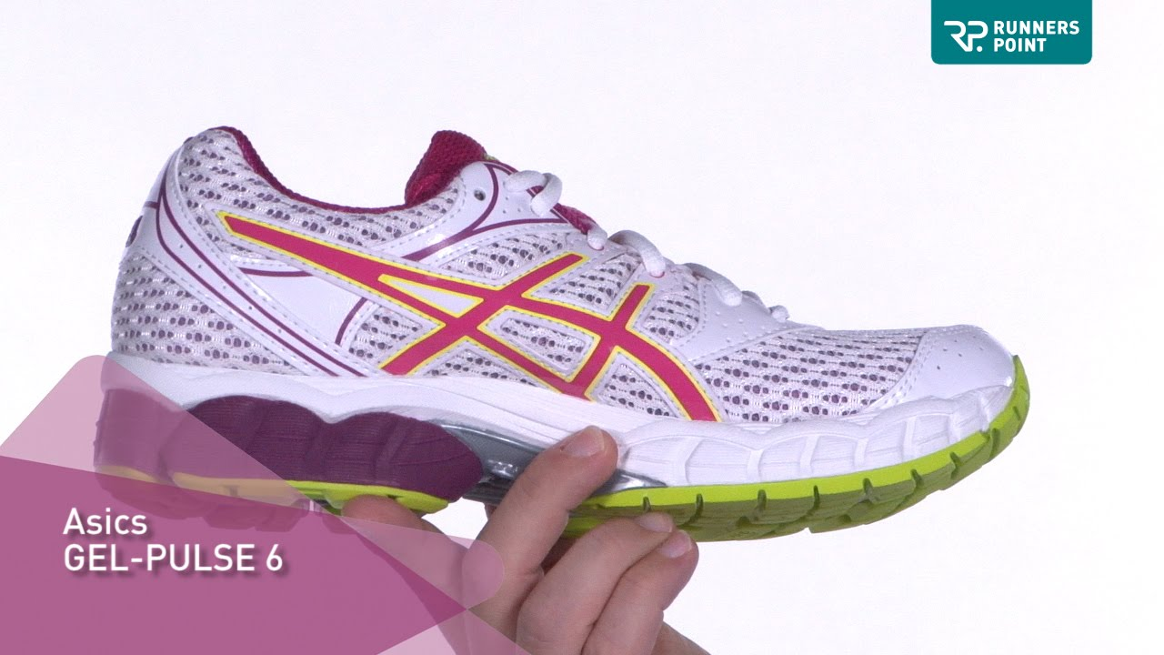 Asics Gel Pulse 6 Lila Gelb Damen