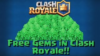 How To Get FREE GEMS FAST In Clash Royale!