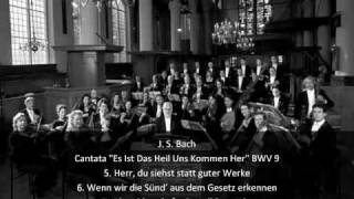 """J. S. Bach - Cantata """"Es Ist Das Heil Uns Kommen Her"""" BWV 9 (2/2)"""
