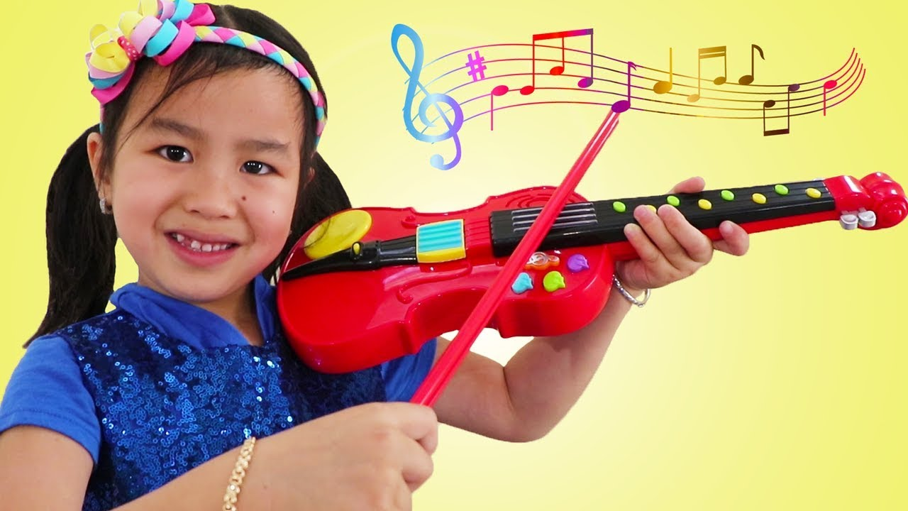 Jannie Wendy Pretend Play With Violin Music Toy Sings