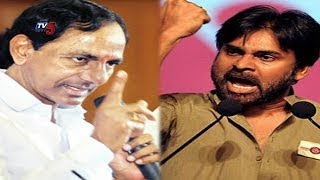 KCR Counter Attack on Pawan Kalyan Comments In Public | TV5 News