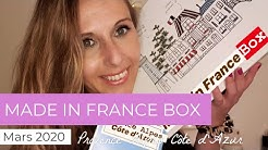 Made in France Box - Mars 2020 - Provence Alpes Côte d'Azur