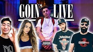 "YouTubers React To My New Song ""Goin"