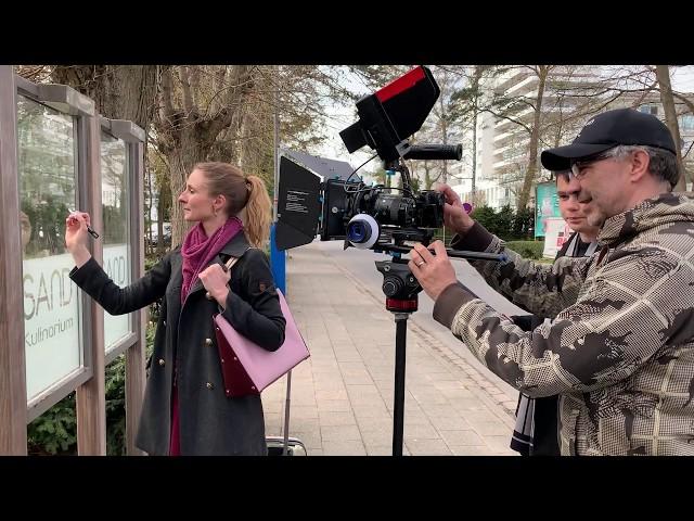 Werbefilmdreh für das Hotel Sand - VLOG