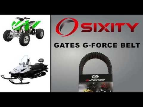 Gates Drive Belt 2011-2016 Can-Am Commander 1000 XT G-Force CVT Heavy Duty la