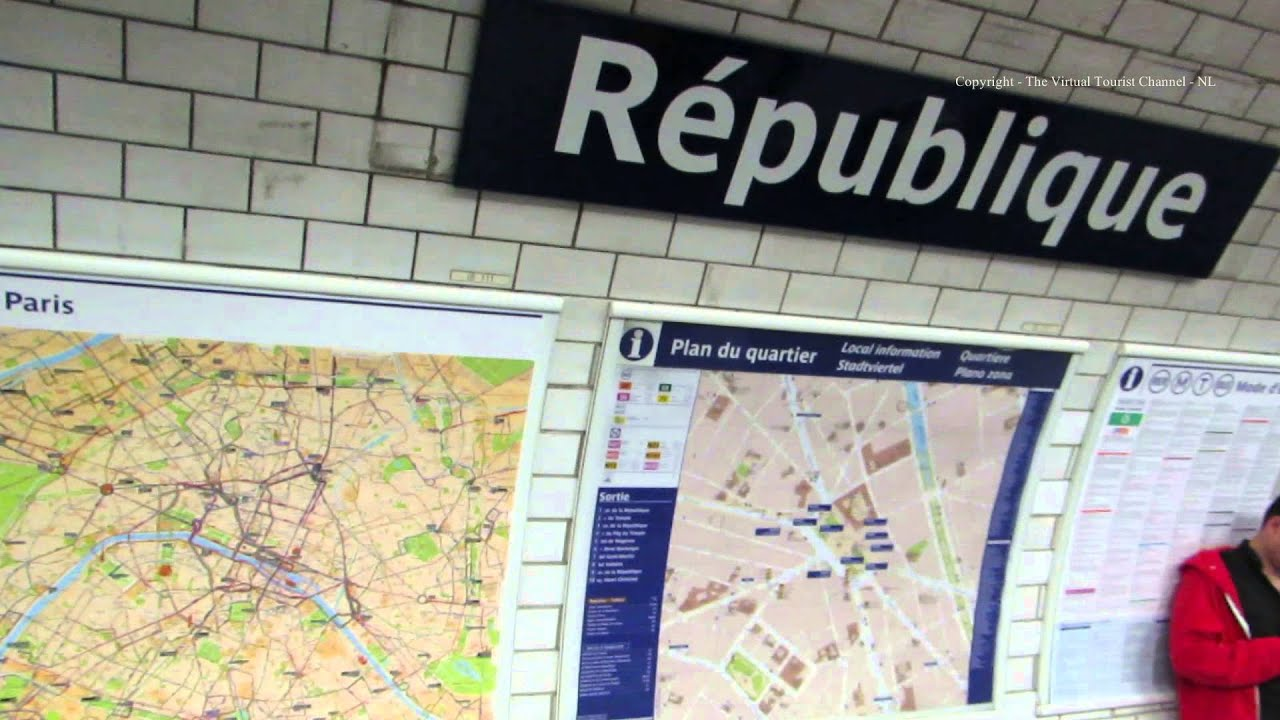 Image result for paris republique station