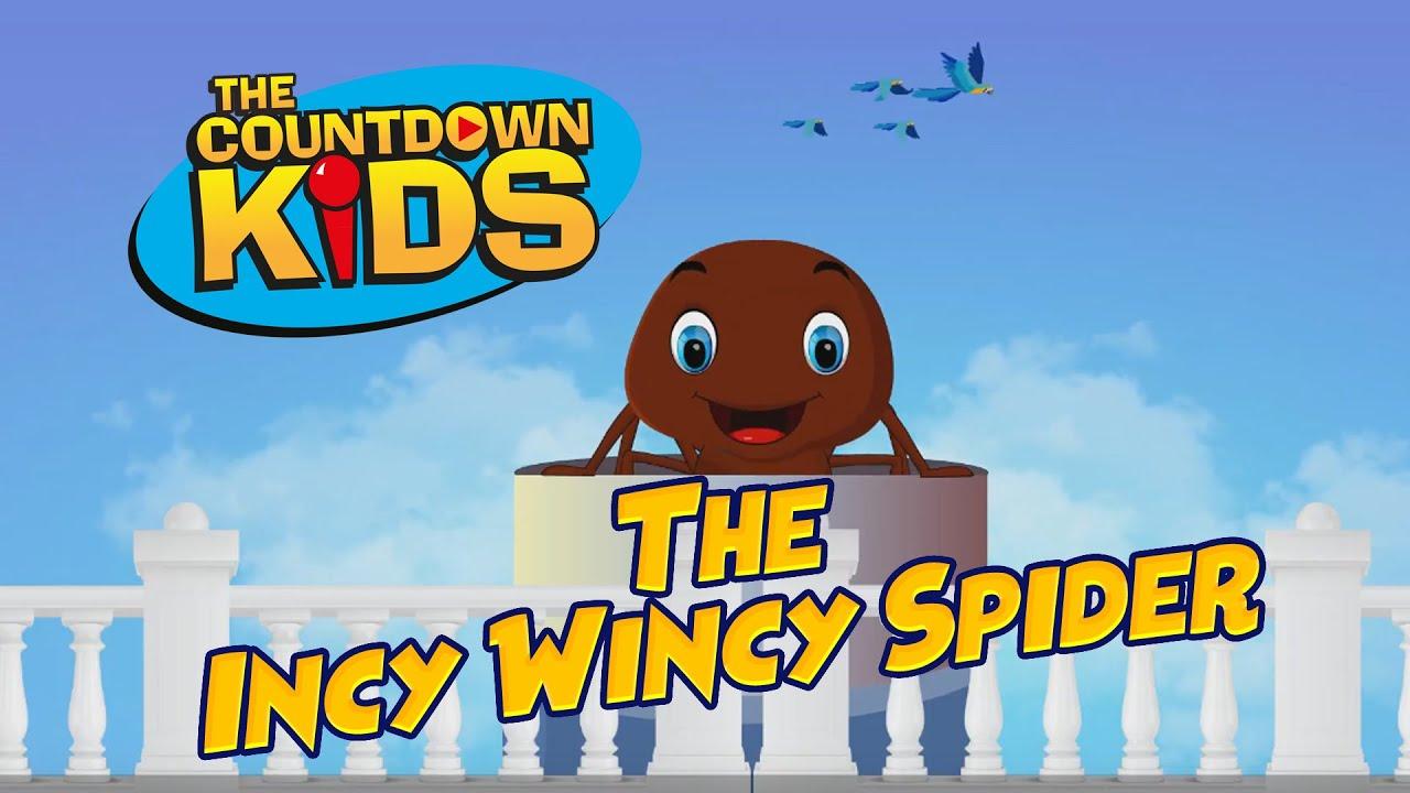 The Incy Wincy Spider - The Countdown Kids | Kids Songs & Nursery Rhymes