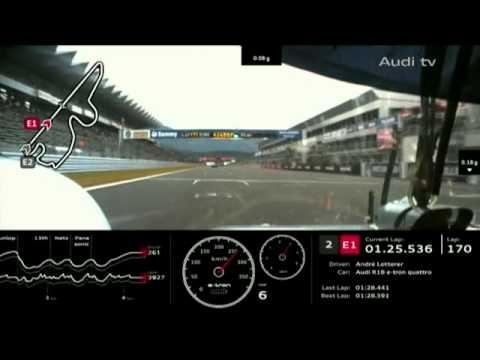 OnBoard Audi R18 E-Tron No.1 @ Fuji 2012