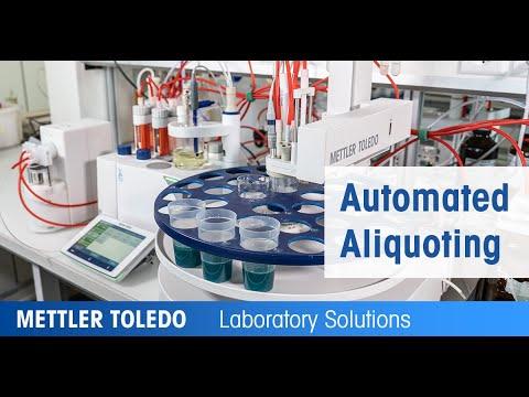 Fully Automated Titration Via Liquid Aliquoting