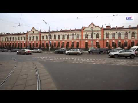 Travel Russia Moscow by tram №6