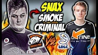 SNAX W SWOIM STYLU & 39 & 39 SMOKE CRIMINAL& 39 & 39 VEGI AIM FROM POLAND VIRTUS PRO VS LDLC CSGO BEST MOMENTS