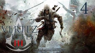Assassin's Creed III - #4 - Nowa znajoma - Vertez Let's Play / Zagrajmy w AC 3 - 1080p