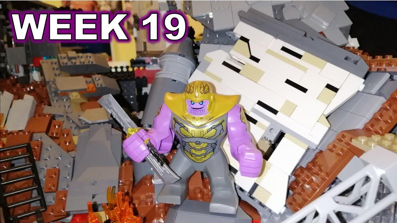 Building Avengers Endgame Final Battle in LEGO   WEEK 19 ...