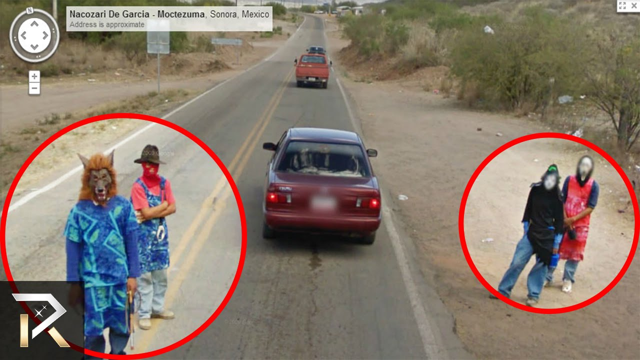 The Creepiest Google Maps Images YouTube - How many google maps cars are there in the us