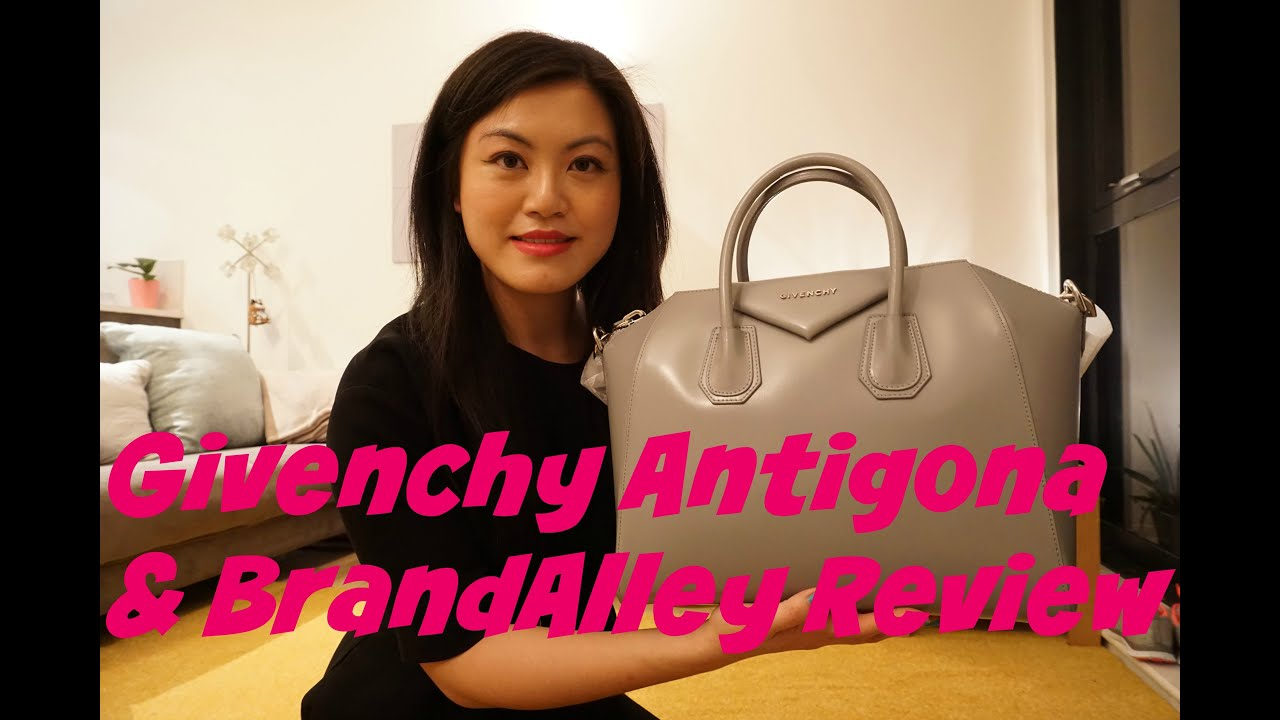 7fb4f4158c9 Givenchy Antigona Unboxing and BrandAlley review - YouTube