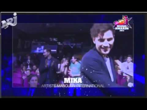 MIKA wins best male international artist at NRJ Music Awards 2012