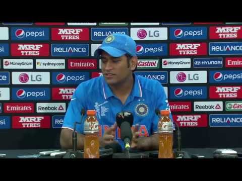 MS DHONI's Emotional Speech after Losing Semi-Final Against Australia In WorldCup 2015