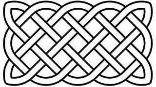 Рисуем простейший орнамент.построение ''кельтского'' плетёного узора.how to draw a simple ornament