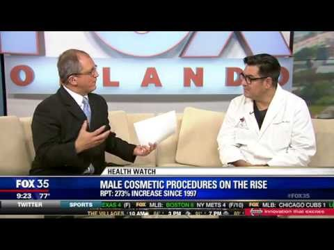 Male Cosmetic Surgery Procedures on the Rise