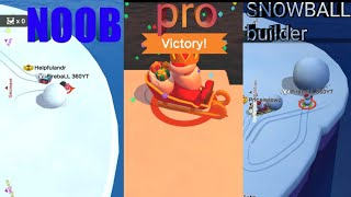 Snowball.io stereotypes|SNOWBALL.IO NOOB VS PRO VS SNOWBALL BUILDER AND MORE