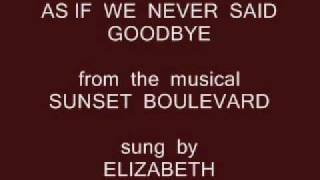 AS  IF  WE  NEVER  SAID  GOODBYE ( ELIZABETH  COVER ).wmv