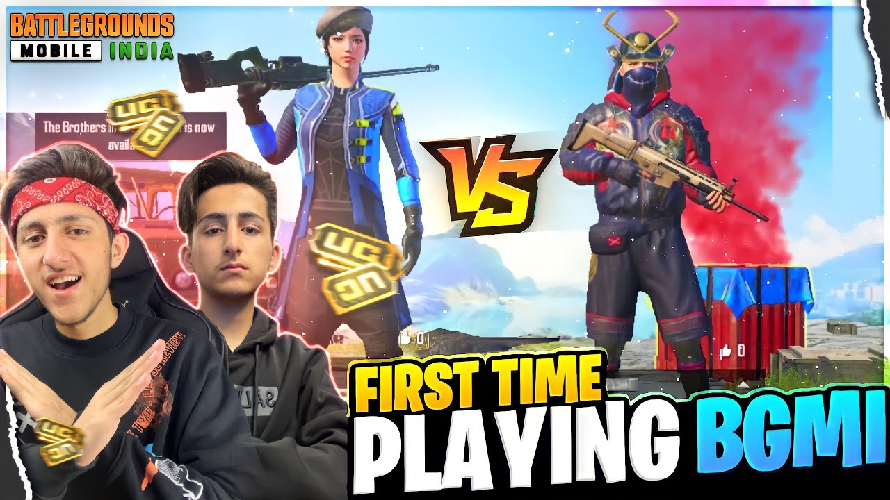 My Brother Challenge Me In Bgmi (pubg) First Time Playing Bgmi | Bgmi Gameplay