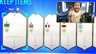 50 ICON PACKS!! OMG BEST ICON PACKS EVER!! FIFA 19