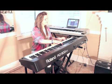Nightingale - Demi Lovato ( PIANO COVER ) | VICTORIA AYCOCK