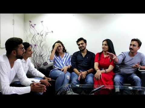VANDHA VILLAS - Exclusive N Rare Interview of star cast by Gujju.Rajkotiyo