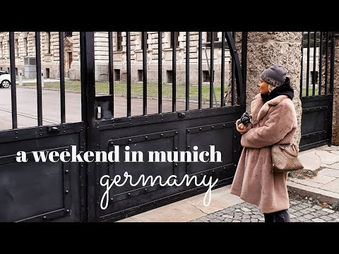 a winter weekend in munich germany | things to do