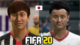 FIFA 20 | ALL JAPAN PLAYERS REAL FACES
