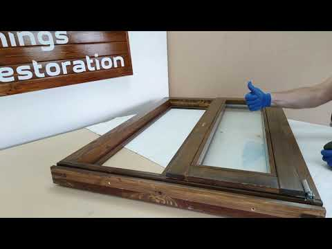 DIY Installation Of Double-glazed Windows In Wooden Eurowindows - Restoration