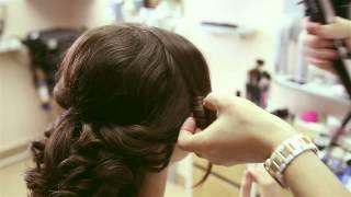 Свадебный образ.прическа и макияж для невесты(, 2015-05-28T16:48:37.000Z)