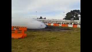 Mrscko Burnout Comp 21/7/12 Rambler Rebel 318 V8 Chrysler