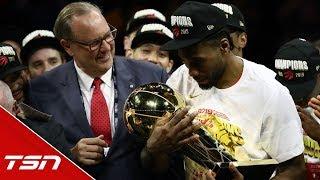 Kawhi Leonard named 2019 NBA Finals MVP: 'This is what I play basketball for'