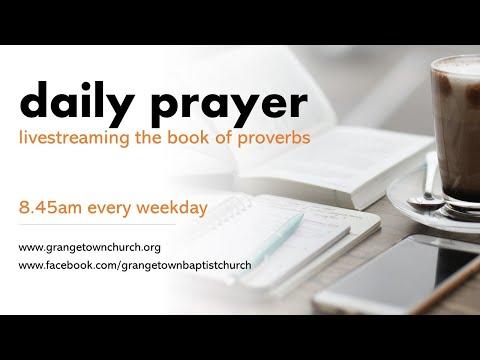 Daily prayer - Proverbs