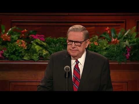 October 2018 General Conference - Jeffrey R. Holland