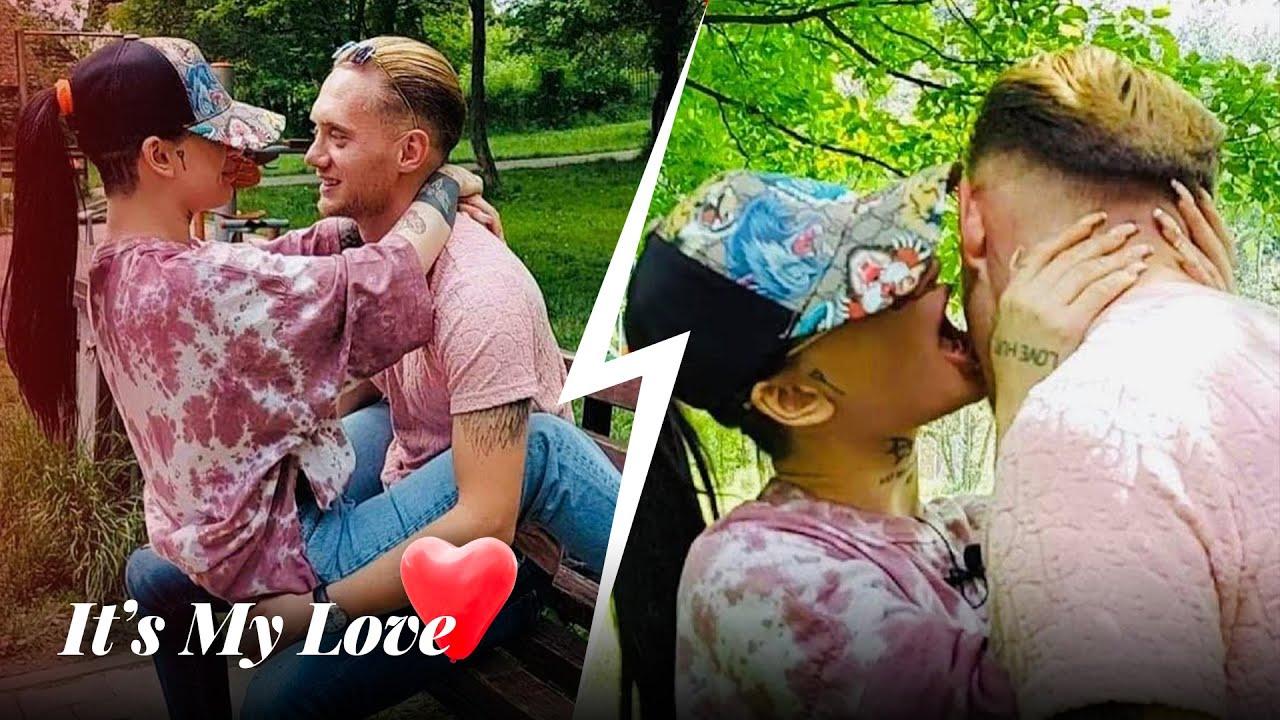 Download Takim - Kri dhe Petriti nuk e mbajne veten, skena te nxehta dhe puthje ne publik - It's My Love