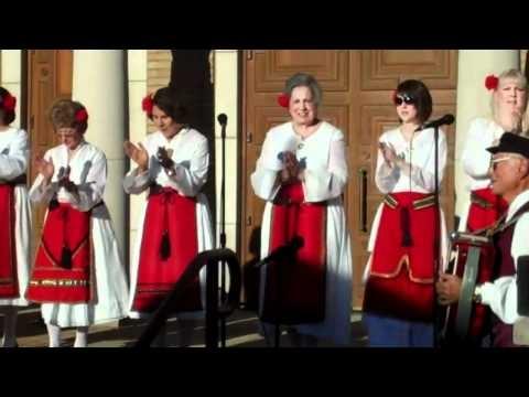 Greek singing at The Columbus ,Ohio Greek festival 2010