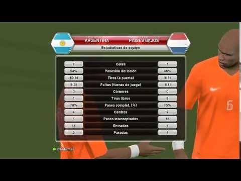 """PC - PES 2014 """"Argentina vs Holanda"""""""