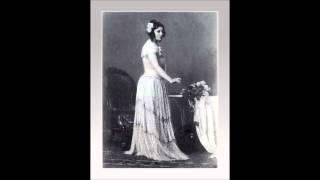 """Soprano CLAUDIA MUZIO - La Traviata """"Che gli dirò...Amami Alfredo..."""" (1911)"""